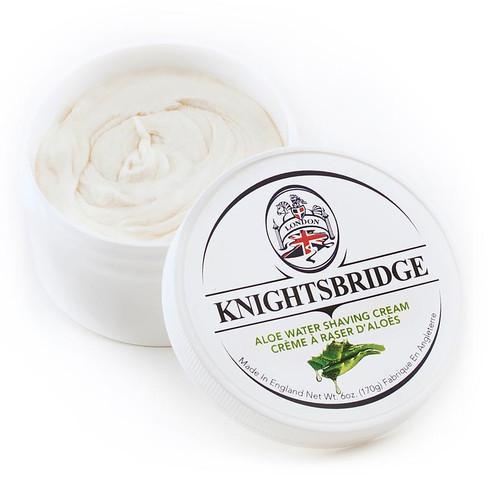 Knightsbridge Aloe Water Shave Cream 170g