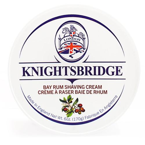 Knightsbridge Bay Rum Shave Cream 170g