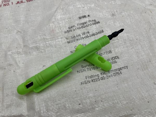 "Maratac 1x4"" Technician's Pocket Screw Driver - Gen 2 Zombie Green"