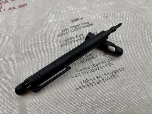 "Maratac 1x4"" Technician's Pocket Screw Driver - Gen 2 Black"