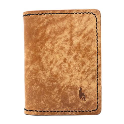 Unfound Leather Atom Wallet *REC Exclusive* Brown Interior