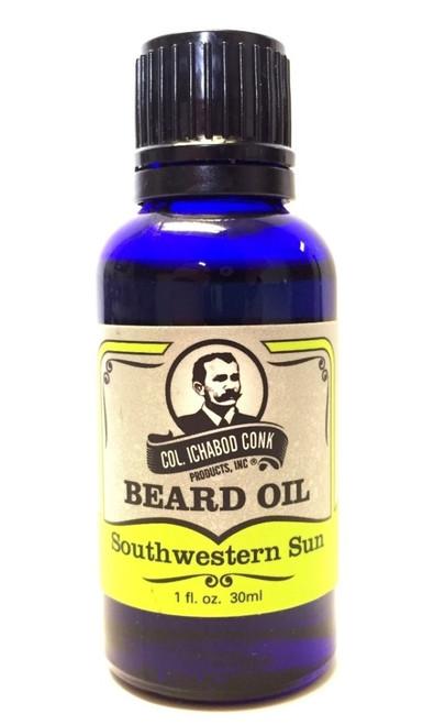 Col. Conk Beard Oil Southwestern Sun
