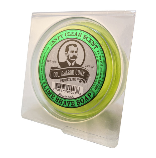 Col. Conk Lime Shave Soap 2.5oz