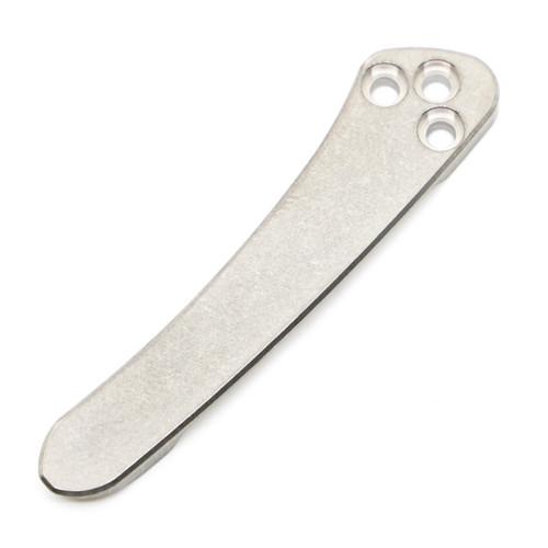 Ripps Garage Tech PM2 Pocket Clip - Stonewashed Titanium