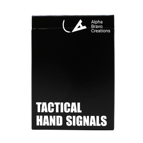 Tactical Hand Signal Cards - Alpha Bravo Creations