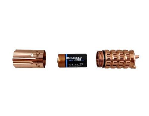 Maratac REV 3 Copper CR123 Flashlight