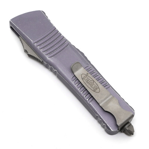 Microtech 142-10DGY Combat Troodon D/E Distressed Gray Apocalptic Standard M390
