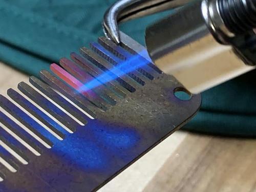 County Comm Exclusive Titanium Comb