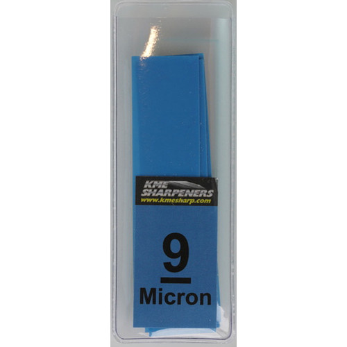 KME Sharpeners LF-GB-SLVS-9 Lapping Films 9 Micron w/ Glass Blank