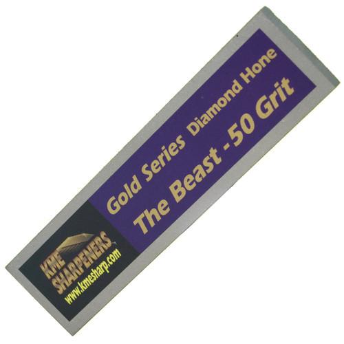 "KME Sharpeners GS-50 Gold Series ""The Beast"" 50 Grit Diamond Hone"