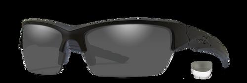 WX CHVAL07 Valor Grey/Clear Lens/Matte Black Frame