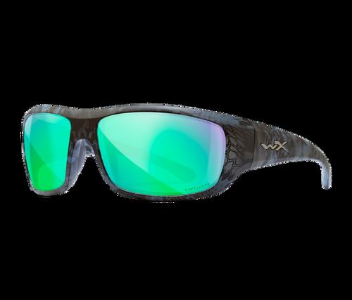 WX ACOME13 Omega Kryptek Neptune Frame Captivate POL Green Mirror