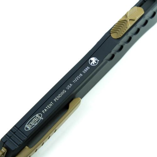 Microtech 241M-1TNB Cypher MK7 S/E Black / Tan & Tan Hardware