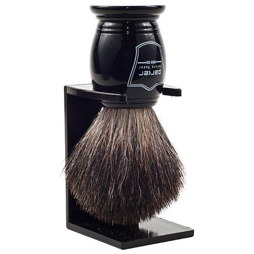 Parker BKBB Black / Black Badger Brush
