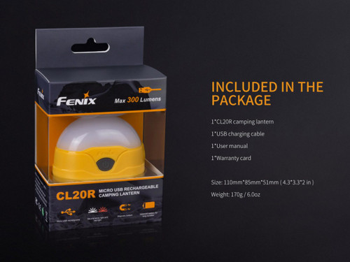 Fenix CL20R - Orange