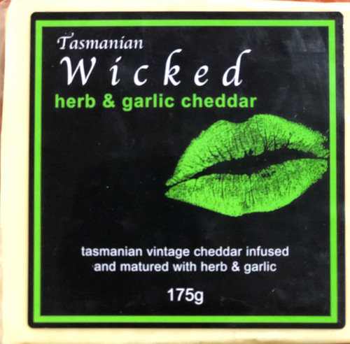Wicked Herb & Garlic Cheddar 175g