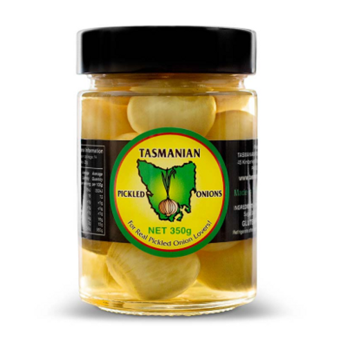 Tasmanian Traditional Pickled Onions 350g
