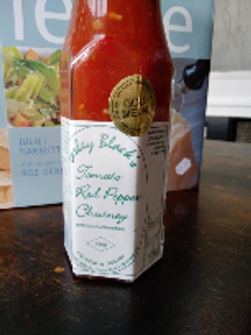 Lesley Black 280g -  Tomato Red Pepper  Chutney