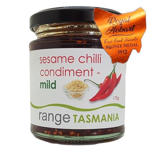 Range Tas sesame chilli condiment mild 170g