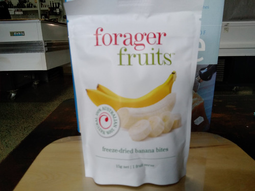 Forager Fruits freeze dried banana (15 - 20g)