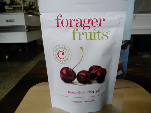 Forager Fruits freeze dried Tasmanian Cherries (15 - 20g)