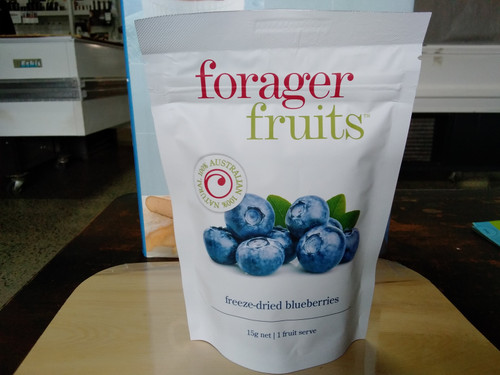Forager Fruits freeze dried blue berries (15 - 20g)