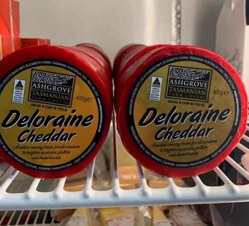 Ashgrove Deloraine Cheddar 400g