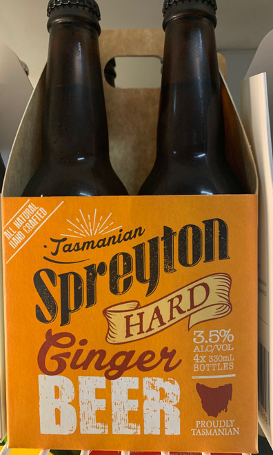 Spreyton Hard Ginger Beer (4 x 330ml)