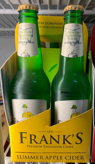 Franks 4 pack (4 x 330ml) Summer Apple Cider
