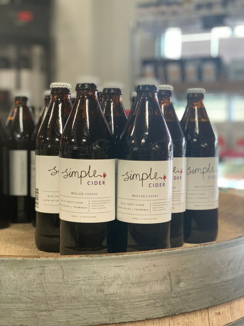 Simple Cider Mulled Cherry Cider 500ml