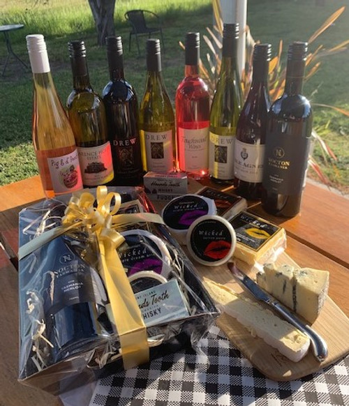 Tasmanian Wine & Cheese gift pack - Hamper 17.