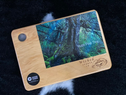 Wicked Cheese Huon Pine small cheese board
