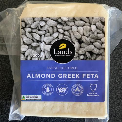 Lauds Plant Based - Almond Greek Fetta 200g