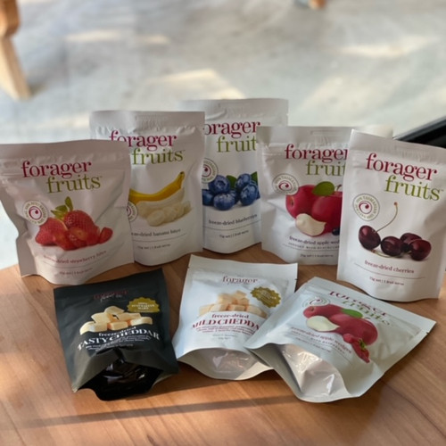 The Forager Food Co. Freeze Dried Fruit & Cheese   15 - 50g