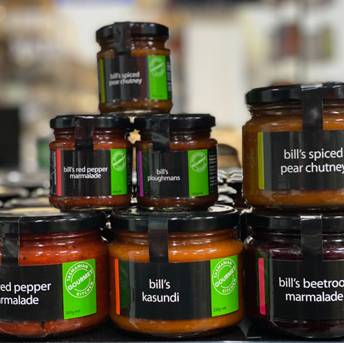 Tasmanian Gourmet Kitchen Relish & Chutneys 300g