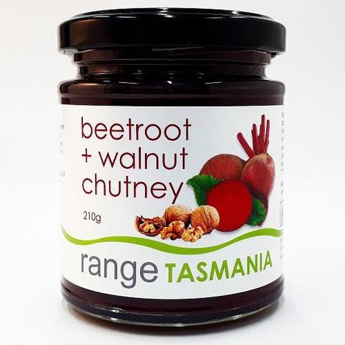 Range Tas beetroot and walnut chutney - 210g