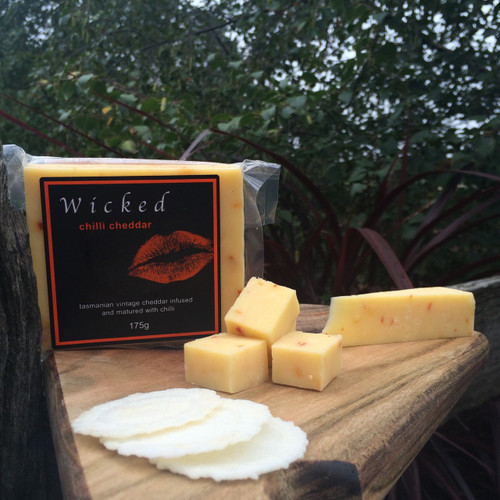 Wicked Chilli Cheddar 175g