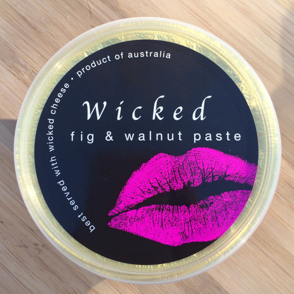Wicked fig & walnut paste