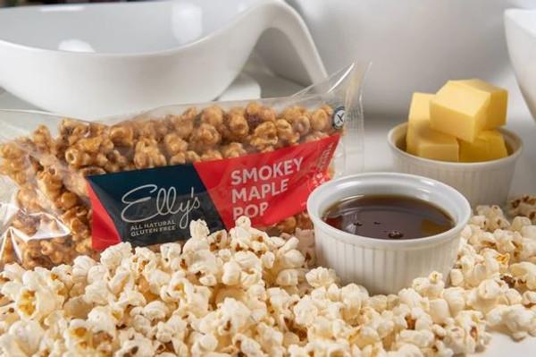 Elly's Smokey Maple POP 120g - Gluten Free