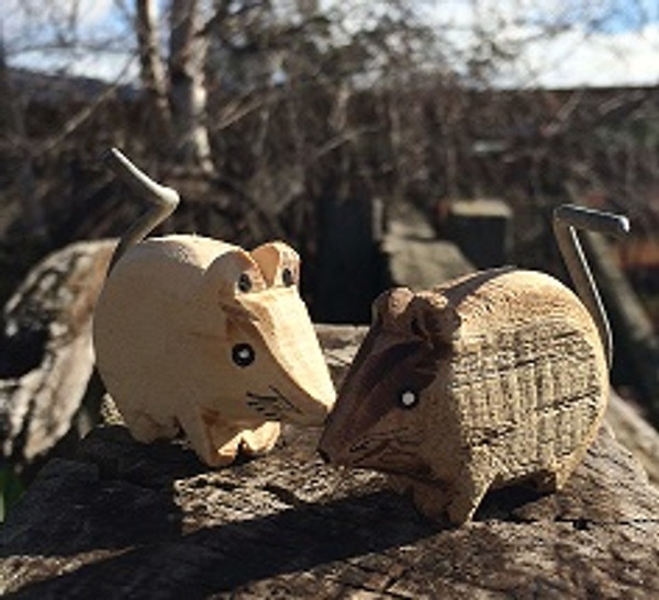 Wicked Wooden Wombat