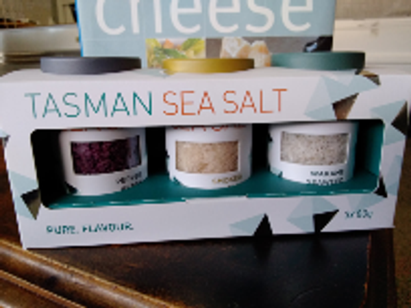 Tasman sea salt 3 x 80g - Gift pack