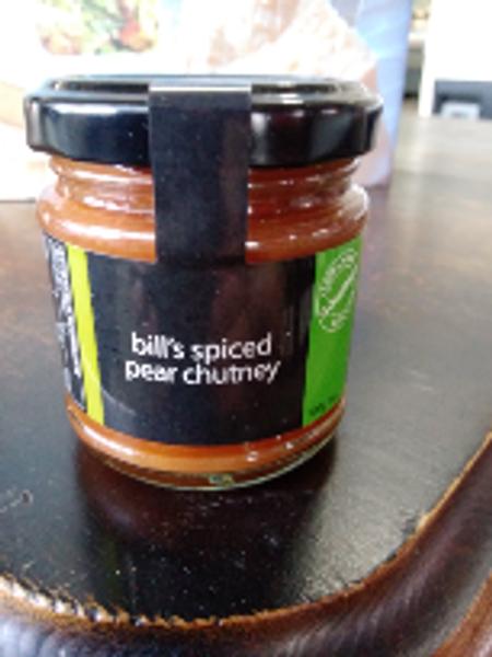TGK Bill's Spiced Pear Chutney 100g
