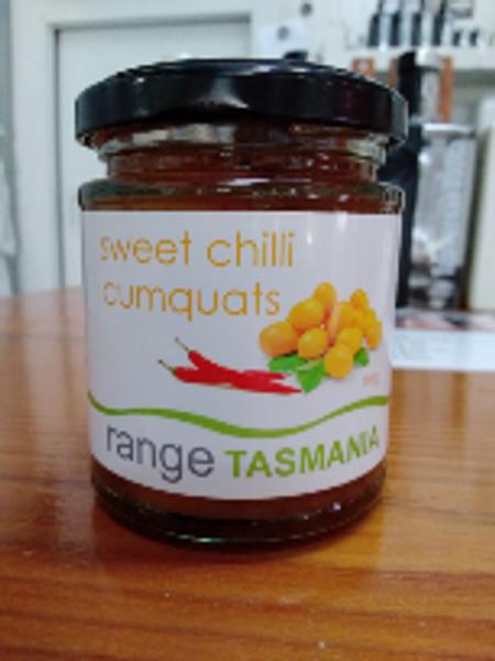 Range Tas  Sweet Chilli Cumquats 190g