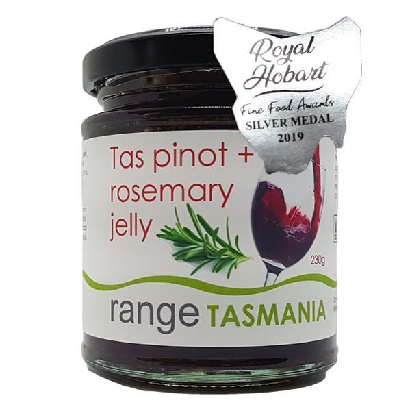 Range Tas Pinot & Rosemary jelly 230g