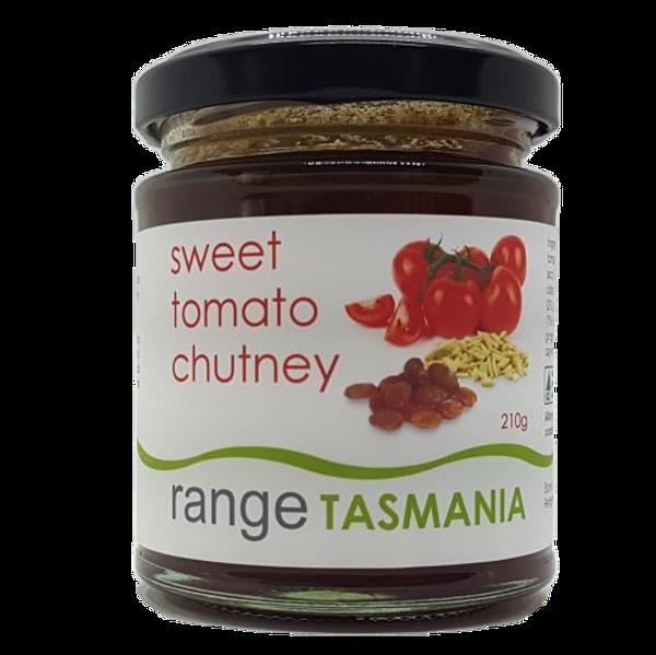 Range Tas Sweet Tomato chutney 210g