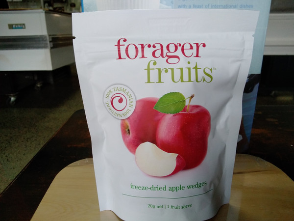 Forager Fruits freeze dried apple (15 - 20g)