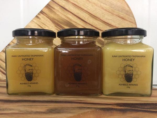 Ashbeez Raw Untreated Honey 250g  - Prickly Box