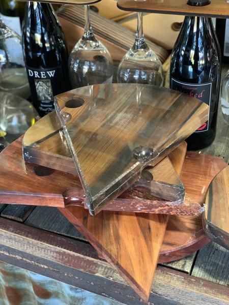 Wood Cheese board - wedge large
