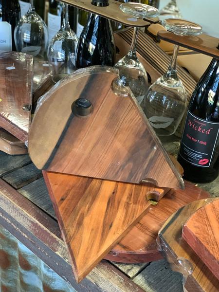 Wood Cheese board - wedge small