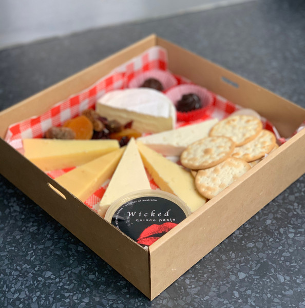 Cheese Platter gift box - COLLECT IN STORE ONLY  RICHMOND TAS
